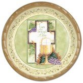 Communion, Cross and Chalice Paper Plates, Pack of 8