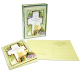 Communion, Cross and Chalice Invitations, Box of 12