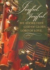 Joyful, Joyful, We Adore Thee, Box of 12 Christmas Cards (KJV)