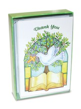 Confirmation, Dove Thank You Cards, Box of 12