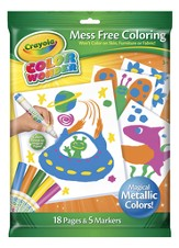 Crayola, Color Wonder Metallic Coloring Pad and Markers