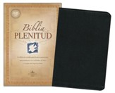 Biblia Plenitud = Spirit-Filled Life Bible, Leather, Black, Thumb Index