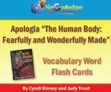 Apologia Human Body Vocabulary Word Flash Cards - PDF Download [Download]