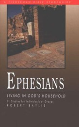 Ephesians: Living in God's Household, Fisherman Bible Studies
