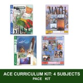 ACE Core Curriculum Kit (4 Subjects), PACEs Only, Grade 3, 3rd Edition (with 4th Edition Science & Social Studies)