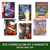 ACE PACEs Grade 4 6-Subject Curriculum Kit (3rd Edition with 4th Edition Social Studies & Science)