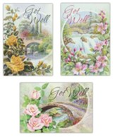 Bridges, Get Well Cards, Box of 12 (KJV)