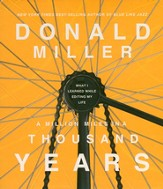 A Million Miles in a Thousand Years Unabridged Audiobook on CD
