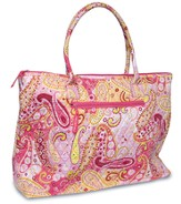 God Will be with You Weekender Bag, Pink