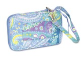 Filled with Love Wristlet, Blue