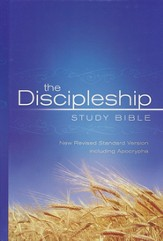 The NRSV Discipleship Study Bible with the Apocrypha  - Slightly Imperfect