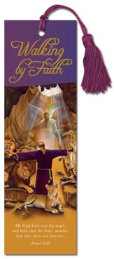 Walking By Faith, Daniel, Bookmark
