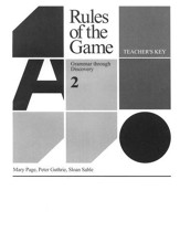 Rules of the Game, Teacher's Key, Book #2