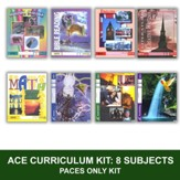 ACE Comprehensive Curriculum (8 Subjects), Single Student PACEs Only Kit, Grade 2, 3rd Edition (with 4th Edition Science & Social Studies)