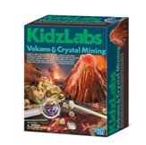 Volcano and Crystal Mining