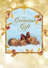 Greatest Gift Christmas Cards, African American, Box of 15