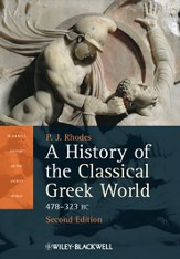 A History of the Classical Greek World: 478 - 323 BC - eBook