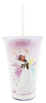 Too Blessed to be Stressed Tumbler