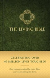 Living Bible, hardcover  - Imperfectly Imprinted Bibles