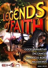 Legends of Faith - issue 2: Good Samaritan / Zacchaeus / Damascus Road / Nicodemus - PDF Download [Download]
