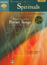 Partners in Spirituals Songbook &  Accompaniment/Performance Audio CD