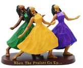 Praises Go Up Figurine