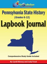Pennsylvania State History Lapbook Journal - PDF Download [Download]