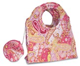 Let Your Heart Rejoice, Quilted Medium Purse, Pink