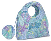 Let Your Heart Rejoice, Quilted Medium Purse, Blue