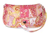 Rejoice and Be Glad, Quilted Small Purse, Pink