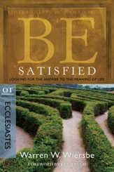 Be Satisfied: Looking for the Answer to the Meaning of Life - eBook