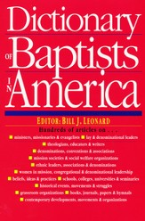 Dictionary of Baptists in America King James Version