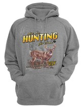 Are You Hunting For Truth, Hooded Sweatshirt, Gray, Medium