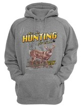 Are You Hunting For Truth, Hooded Sweatshirt, Gray, Small