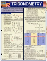 Trigonometry Quick Study Chart