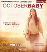October Baby Unabridged Audiobook on CD