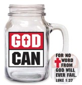 God Can Glass Mug