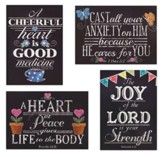 Get Well Boxed Cards, Chalk Art, Box of 12