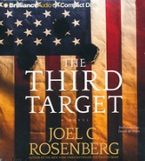 The Third Target - abridged audiobook on CD