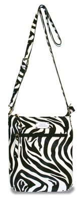 Faith Crossbody Bag, Zebra