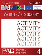 World Geography, Chapter 4, Activities