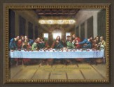 I Am The Way, Last Supper Framed Art