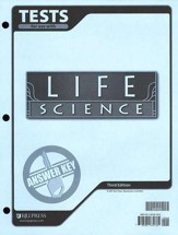 BJU Life Science Tests Answer Key, Third Edition (Grade 7)
