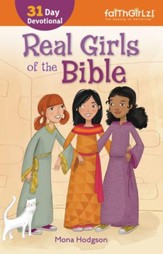 Real Girls of the Bible: A 31-Day Devotional / Enlarged - eBook