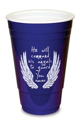 Angel Wings, Blue Solo Cup