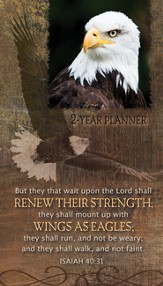 Eagles (Isaiah 40:31), 2016-2017 Pocket Planner