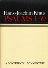 Psalms 1-59, Continental Commentary Series