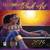 2015 Expressions of Black Art Wall Calendar