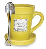 Sow the Seeds Of Kindness, Flower Pot Mug