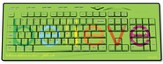 Believe USB Wireless Keyboard, Green